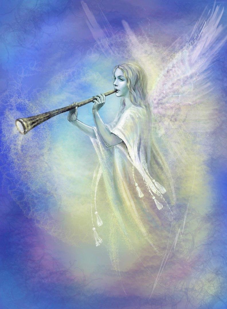 картинка ангелы поют