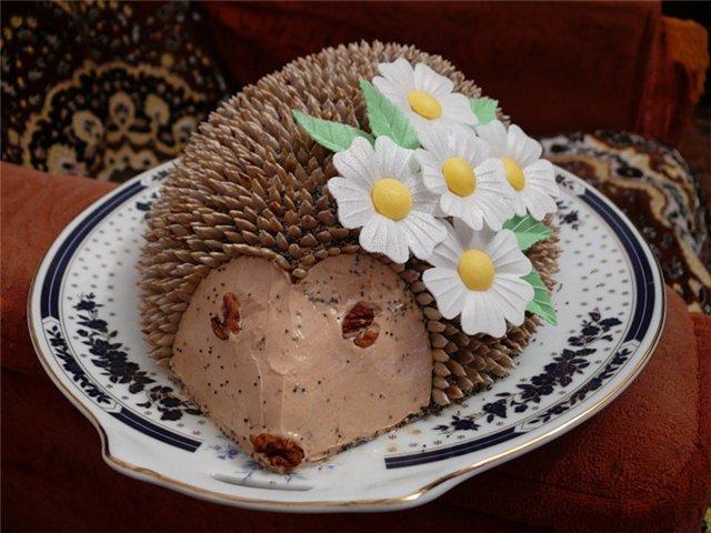 Рецепты с фото торта ежик